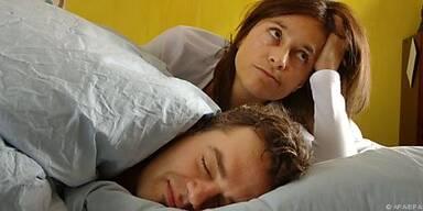 30 Prozent der Männer schnarchen regelmäßig