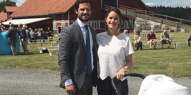 Sofia & Carl Philip: So war 1. Hochzeitstag