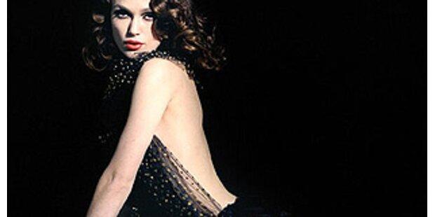 Keira Knightley posiert fast nackt