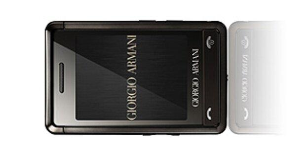 Luxus-Handy von Armani ist da