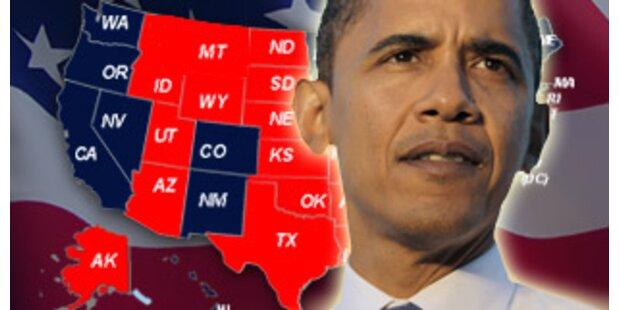 Obamas wird 44. Präsident der USA