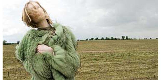 Inge Prader fotografiert für Wunderkind