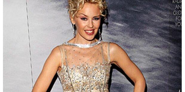 Kylie Minogue trägt Dress um 750.000 Euro