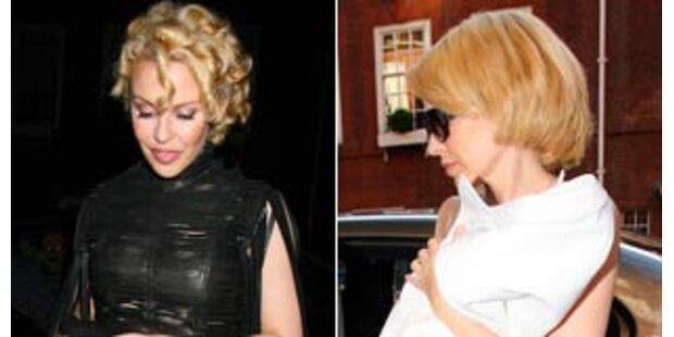 Kylie Minogue jetzt mit lustigen Dreadlocks