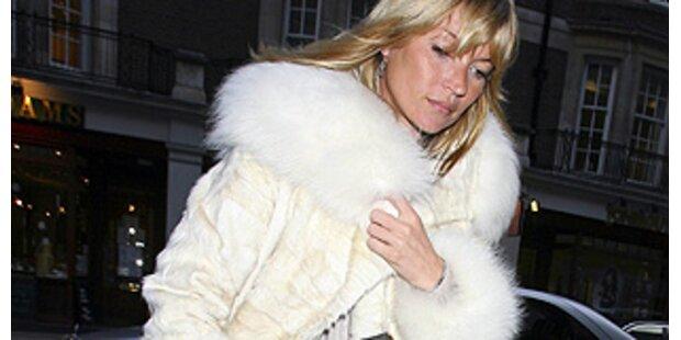 Kate Moss wechselt jeden Tag den Pelz