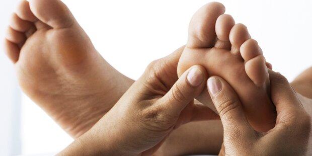 Wie funktioniert eine Fußreflexzonenmassage?
