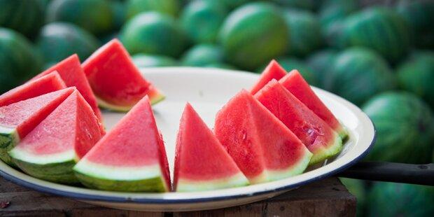 Wassermelonen clever schneiden