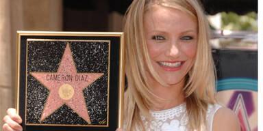 Diaz bekommt Stern auf  Walk of Fame