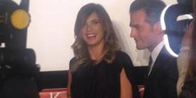 Elisabetta Canalis Pressekonferenz