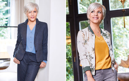 Birgit Schrowanges neuer Grau-Look: Ein Werbegag?
