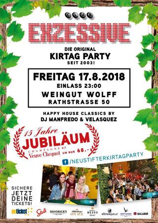Club Exzessive Flyer 2018