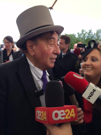 Richard Lugner sagt 'Ja' zu seiner Spatzi