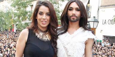 Conchita Wurst begeistert in Madrid