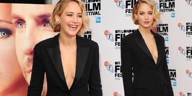 "Jennifer Lawrence freizügig bei ""Serena""-Premiere"
