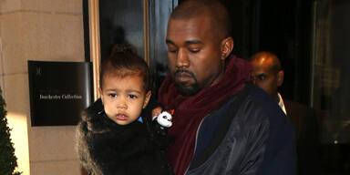 Papa Kanye holt Nori vom Kinderclub ab