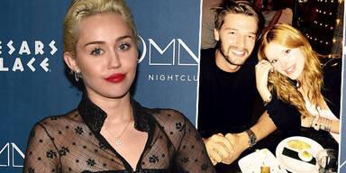 Miley Cyrus, Patrick Schwrzenegger, Bella Thorne