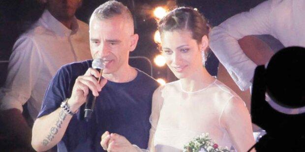 Eros Ramazzotti feierte große Hochzeitsparty