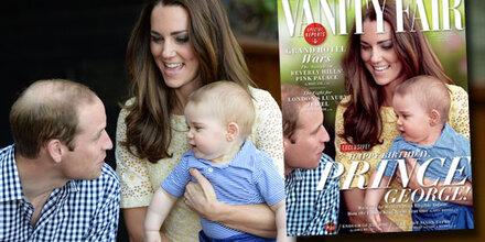 William: Glatze weg dank Photoshop