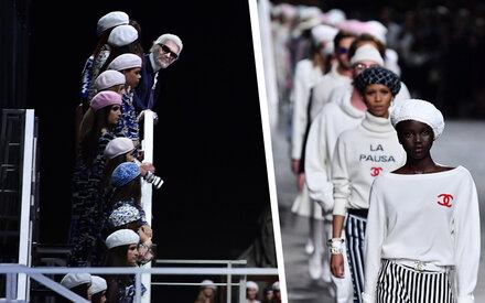 Lagerfelds Mega-Show für Chanel