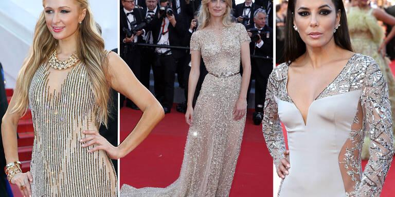 Metallic-Trend in Cannes