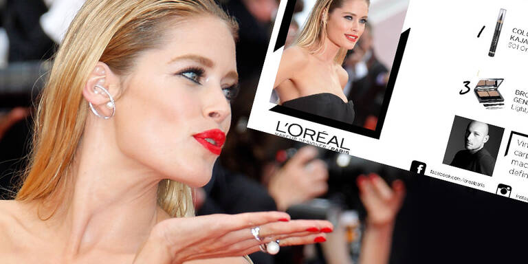 Doutzens sexy Cannes-Look