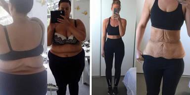 Neider zweifelten an ihrer Diät-Geschichte