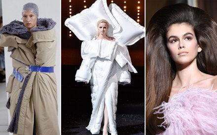 Schräges Couture-Finale in Paris