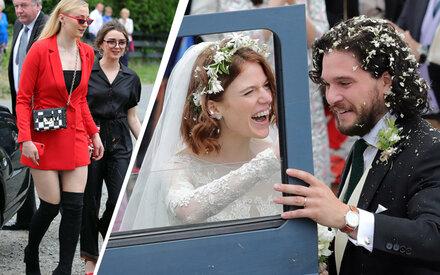 """Kleider-Fauxpas bei """"GoT""""-Hochzeit"""