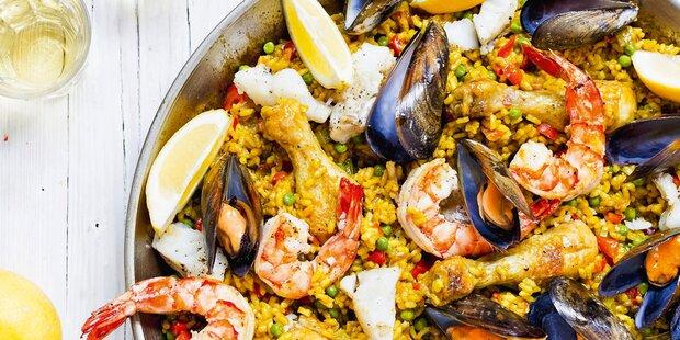 Die perfekte Paella