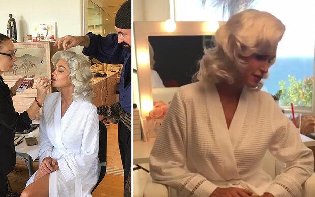 Wer macht hier auf Marilyn?