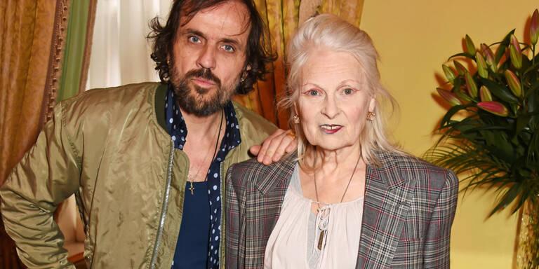 Vivienne Westwood posierte für Kollektion ihres Ehemannes