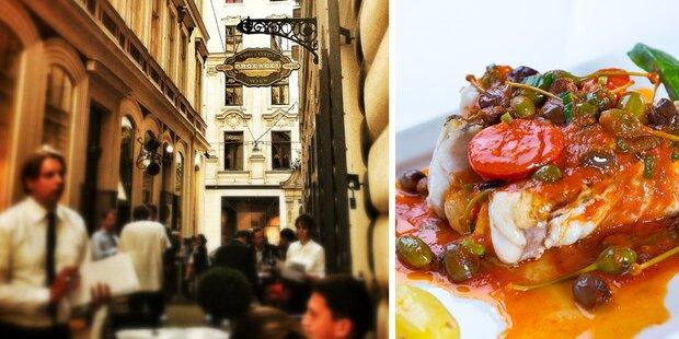 Originalrezept des Wiener Nobel-Italieners 'Procacci'
