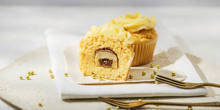 Cupcake mit Mozartkugel
