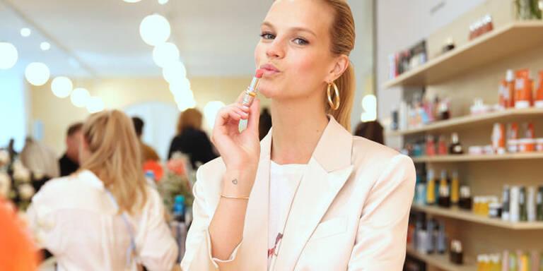 Nadine Leopold im Beauty-Talk