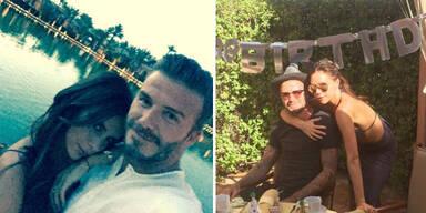 Beckham feier 40er