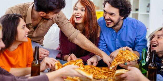 Was Ihr Pizza-Essverhalten verrät