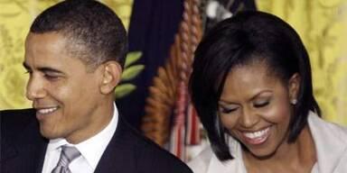 Obama lacht über Klingelton