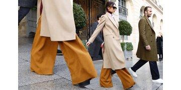 Die Beckhams in Paris: Victoria macht den Fashion-Clown