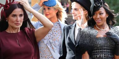 Royal Wedding: Die schicksten Gäste