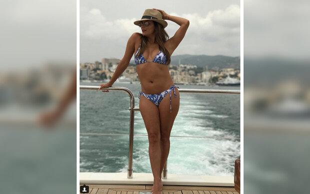 Eva Longoria zeigt ihren Bikini-Body