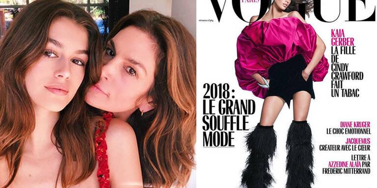 Kaia Gerber: Erstes Vogue-Cover mit 16