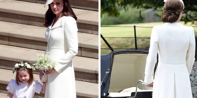 Kate trug doch ein neues Kleid!