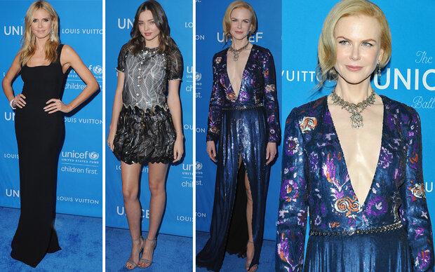 Glamour am Blue Carpet