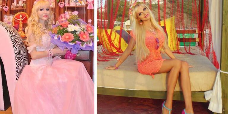 Russin arbeitet als Barbie-Double