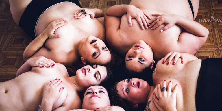 Fotoprojekt zelebriert Dicksein