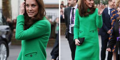 Kate trägt das 'wütendste Kleid der Welt'