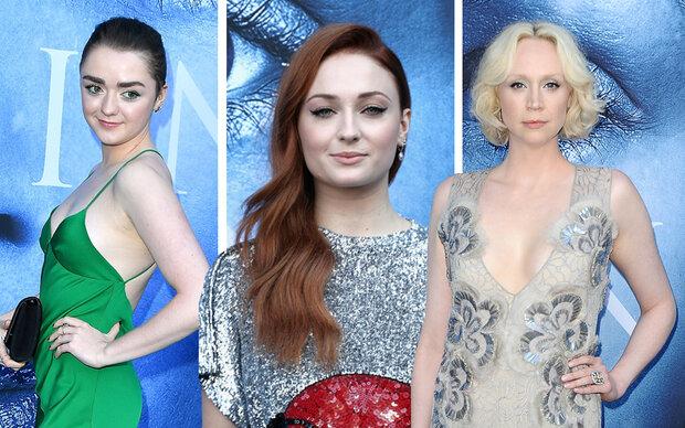"""""""Game of Thrones""""-Serienstars am Red Carpet"""