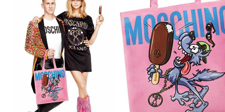 Moschino x Magnum-Taschen