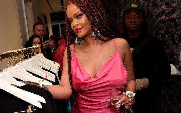 Rihannas Mode gibt es jetzt auch in New York