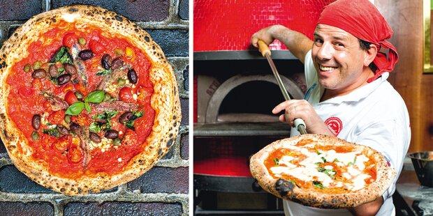 So gelingt original neapolitanische Pizza